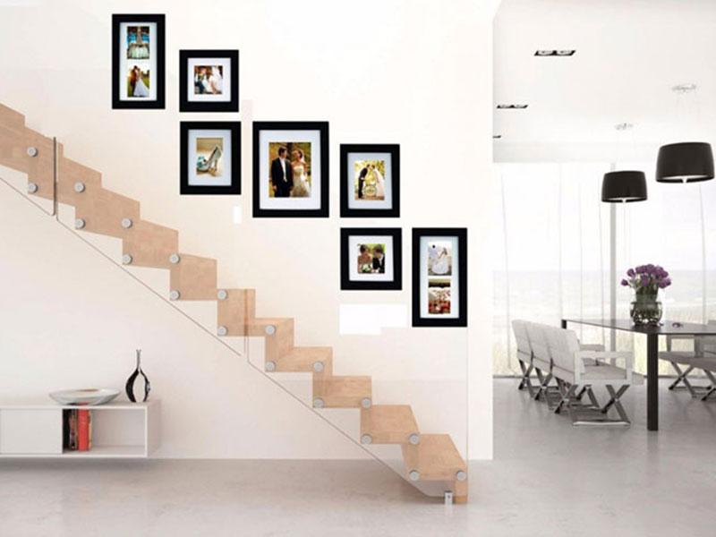 Ideas para colgar portaretratos - Velvet Deco - Objetos de Diseño