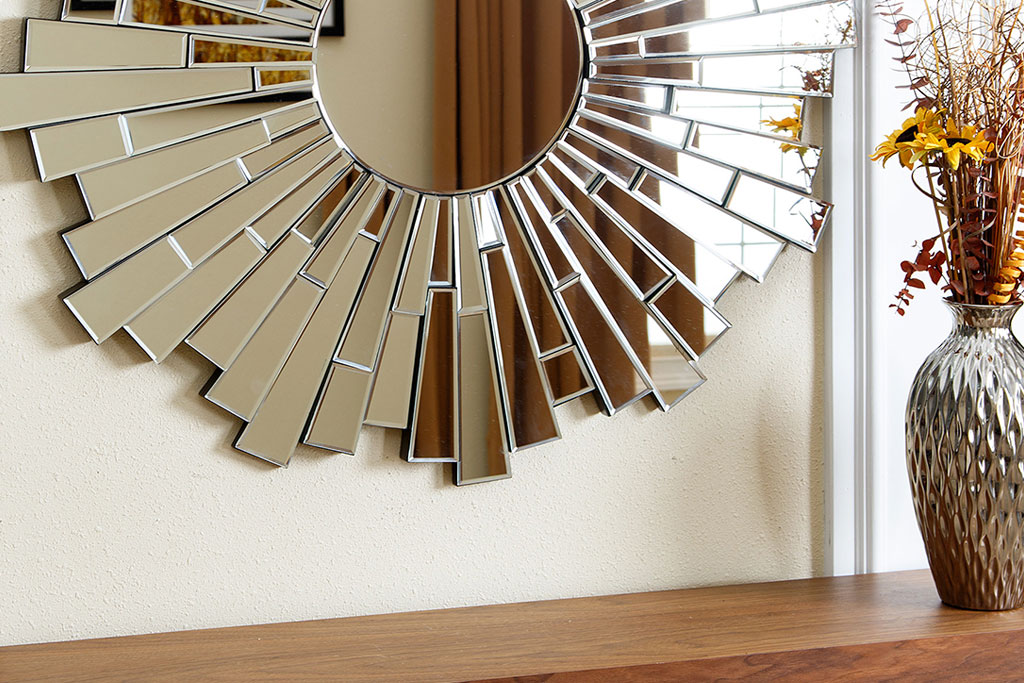 Venecia espejo circular