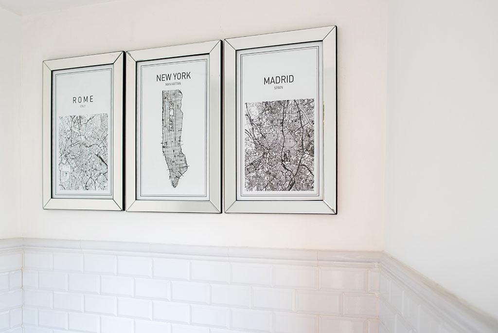 Toledo portaretratos con mapas