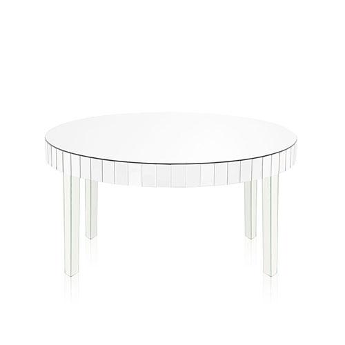 Florencia mesa espejada de arrime