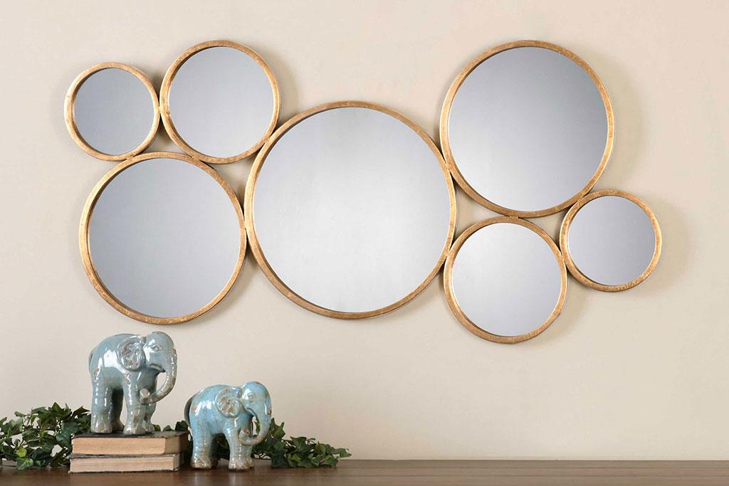 Merry espejo esferas