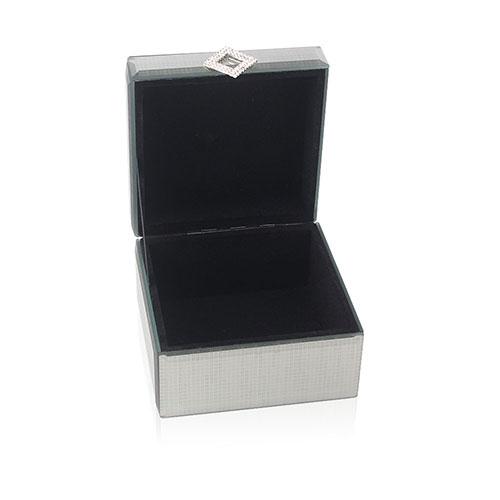 caja espejada hebilla